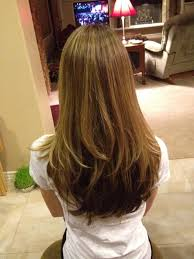 back of the hair long layers long layered hairstyles back view archives best haircut style