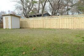 Backyard Fences Ideas Triyae Com U003d Backyard Privacy Fence Ideas Various Design