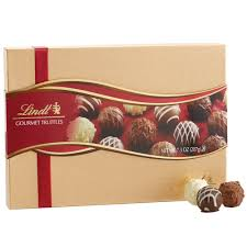 Food Gift Boxes Amazon Com Lindt Gourmet Truffles Gift Box 7 3 Oz Gourmet