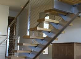 Cable Banister Stair Cable Railing Modern Staircase Other By Ultra Tec