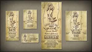 read more western cowboy boots vintage wedding invitations