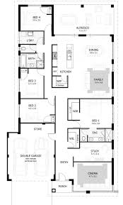 townhouse plans ands house plan drummond bedroom indian home and