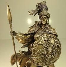 greek gods statues athena god of wisdom war greek mythology sculpture statue antique