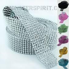 diamond mesh ribbon ribbon rhinestone look diamond mesh ribbon 1 5 x 10 yards
