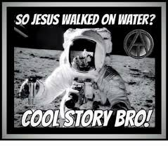 Bro Jesus Meme - so jesus walked on water cool story bro jesus meme on me me