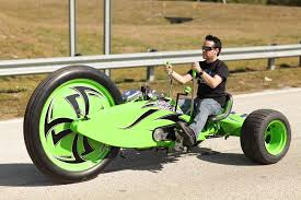 Radio Flyer 79 Big Front Wheel Chopper Trike Tricycle Check Out The Green Machine For Adults You Steer Like You You Are