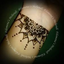 to put some henna on my skin floral henna design ready to