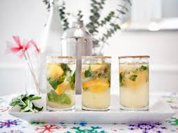 festive holiday citrus spritzer recipe hgtv