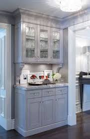 gray kitchen cabinets with white crown molding 8 crown molding in kitchen ideas kitchen redo new kitchen