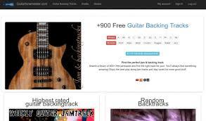 guitar backing tracks all keys u0026 styles