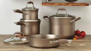 anolon advanced umber 11 piece cookware set 84441 anolon com
