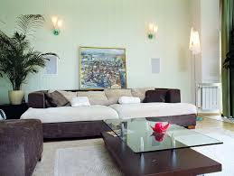 Appealing Light Blue Living Room Decorating With Nice Couch Feat - Simple decor living room