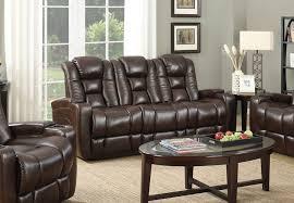transformer brown power reclining sofa