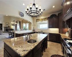 what color granite goes with brown cabinets kitchen cabinets brown granite kitchen cabinets