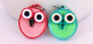 paper quilling birds tutorial diy make your own paper quilled owl jewelry tutorial honey s quilling