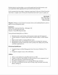 Resume Samples Analyst by Resume Examples Front Desk Receptionist Sample Resume Import