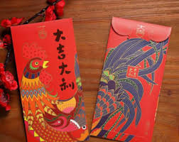 new year money bags 6 new year of the rooster envelopes money