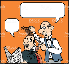 haircut cartoon stock vector art 476140548 istock