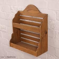 portaspezie legno 2 tier piccola cucina finitura naturale di legno portaspezie in 2