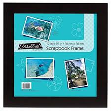 scrapbook inserts mcs 15x15 inch flat scrapbook frame with 12x12