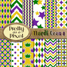 mardi gras paper printable scrapbook paper mardi gras 1 12 x 12 set of 12