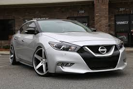 convertible nissan maxima lowered 2016 nissan maxima concavo wheels trinity motorsports