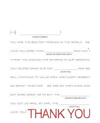 wedding gift thank you wording wedding gift thank you note wording wedding images