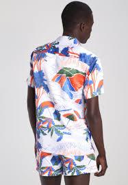 design hemd topman design hemd multi bright herren bekleidung hemden