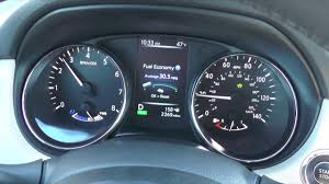 nissan rogue gas mileage 2016 2017 nissan rogue hybrid 0 60 mph shift points youtube