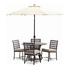 Large Patio Tables by Large Patio Dining Set With Umbrella Home And Garden Decor