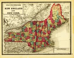 New England State Map by Maryland New Topographical Atlas Of The State Of Maryland