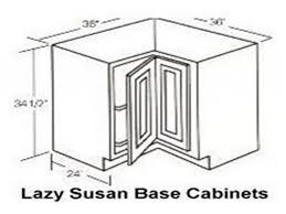 Base Kitchen Cabinet Sizes by Lazy Susan Base Cabinet Sizes