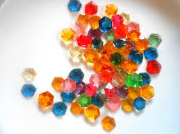 edible jewels legend of party 60 candy gem edible rupees sugar jewels