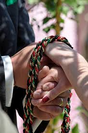 celtic handfasting cords 5 trending wedding ceremony unity traditions for more meaningful