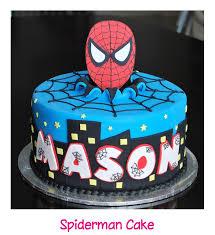 spiderman cake ideas pinterest