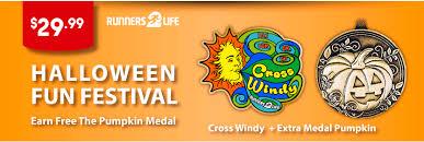 halloween medals halloween fun run festival earn free the pumpkin medal 13 1m 10k