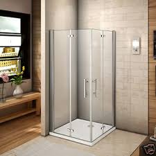 Frameless Bifold Shower Door Aica 1000x800 Frameless Bifold Shower Enclosure Cubicle Walk In