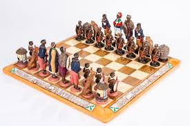 unique chess sets for sale african tribal chess set kumbula shop