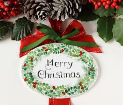 ceramic christmas door decorations outdoor christmas