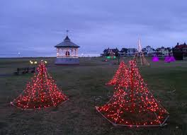 the cape and islands are lit up for the holidays