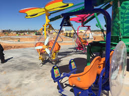 owa theme park rides arriving going up in foley wkrg