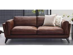 cool couch domicil adore leather sofa effortlessly cool home pinterest