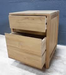 caisson à tiroir bureau bureaux la maison du teck meuble et déco en teck