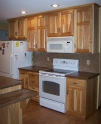 White Kitchen Cabinets With White Appliances Hickory Cabinets White Appliances Red Walls Works Well With A