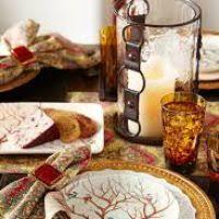 thanksgiving plastic tableware divascuisine