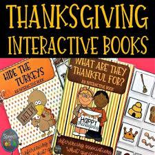 thanksgiving interactive books by speech n teach tpt