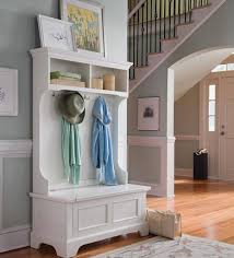 decor how to paint entryway shelf with hooks for home furniture ideas