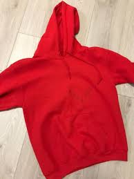 urgent pablo merch red houston hoodie sz small tops