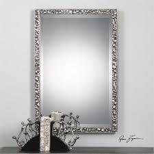 Classy Mirrors by Alshon Metallic Silver Mirror 27