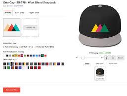 luxury logo hats no minimum 80 with additional online logo design
